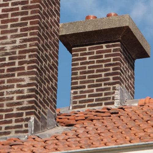 schoorsteen renovatie in Brabant